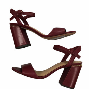 Primary Photo - BRAND: ANTONIO MELANI STYLE: SANDALS HIGH COLOR: BURGUNDY SIZE: 8.5 SKU: 155-155201-18660