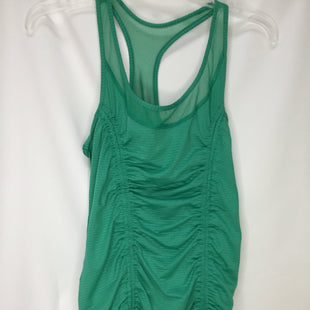 Primary Photo - BRAND: 90 DEGREES BY REFLEX STYLE: ATHLETIC TANK TOP COLOR: KELLY GREEN SIZE: S SKU: 155-15545-207513