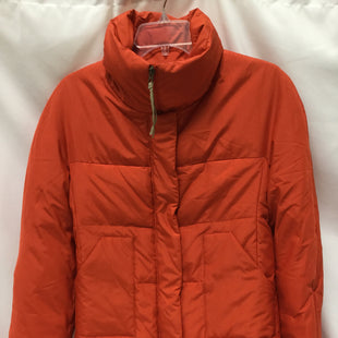 Primary Photo - BRAND: BCBGMAXAZRIA STYLE: COAT SHORT COLOR: ORANGE SIZE: S SKU: 155-15599-238223