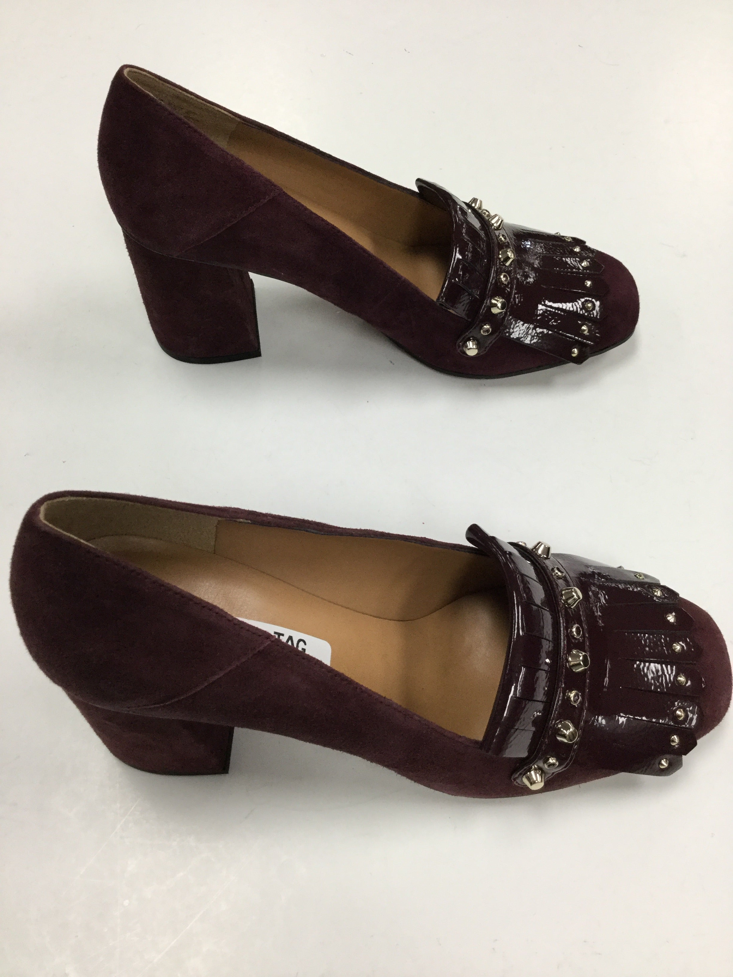 Photo #1 - BRAND: FRANCO SARTO <BR>STYLE: SHOES HIGH HEEL <BR>COLOR: BURGUNDY <BR>SIZE: 9 <BR>SKU: 155-155185-6310