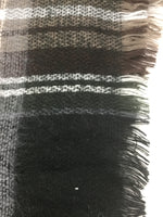 Photo #1 - BRAND: STEVE MADDEN <BR>STYLE: SCARF WINTER <BR>COLOR: BLACK GREY BROWN <BR>SKU: 155-155220-1785