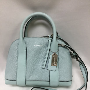 Primary Photo - BRAND: COACH STYLE: HANDBAG DESIGNER COLOR: AQUA SIZE: SMALL SKU: 155-15545-208850