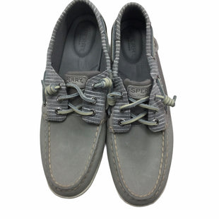 Primary Photo - BRAND: SPERRY STYLE: SHOES FLATS COLOR: GREY SIZE: 9 SKU: 155-155228-2846