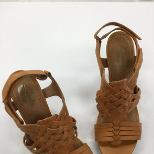 Primary Photo - BRAND: CLARKS STYLE: SANDALS HIGH COLOR: TAN SIZE: 9 SKU: 155-155201-13020