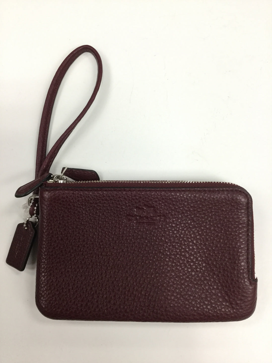 Primary Photo - BRAND: COACH <BR>STYLE: WRISTLET <BR>COLOR: MAROON <BR>OTHER INFO: NOTED <BR>SKU: 162-16254-635