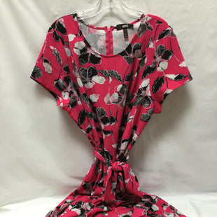 Primary Photo - BRAND: LANE BRYANT STYLE: DRESS SHORT SHORT SLEEVE COLOR: HOT PINK SIZE: 1X SKU: 155-155130-205598