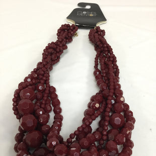 Primary Photo - BRAND: TALBOTS STYLE: NECKLACE COLOR: MAROON SKU: 155-155224-2183