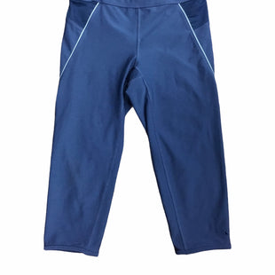 Primary Photo - BRAND: NIKE APPAREL STYLE: ATHLETIC CAPRIS COLOR: BLUE SIZE: S SKU: 155-155224-17331
