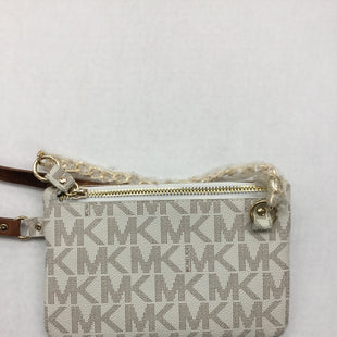 Primary Photo - BRAND: MICHAEL KORS STYLE: HANDBAG COLOR: CREAM SIZE: SMALL OTHER INFO: BELT BAG - - MEDIUM SKU: 155-155224-17866