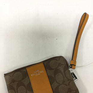 Primary Photo - BRAND: COACH STYLE: WRISTLET COLOR: YELLOW SKU: 155-155187-24036