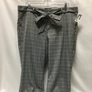 Primary Photo - BRAND: BANANA REPUBLIC STYLE: PANTS COLOR: GREY SIZE: 14 SKU: 155-155185-8265