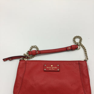 Primary Photo - BRAND: KATE SPADE STYLE: HANDBAG DESIGNER COLOR: RED SIZE: SMALL SKU: 155-155130-205510