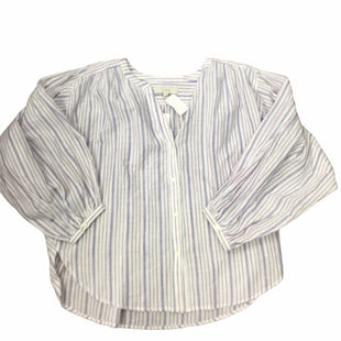 Primary Photo - BRAND: ANN TAYLOR LOFT STYLE: TOP LONG SLEEVE COLOR: STRIPED SIZE: L SKU: 155-155226-380