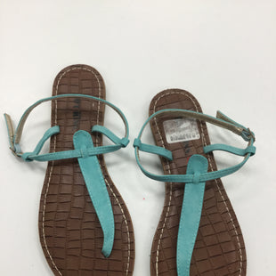 Primary Photo - BRAND: HOT KISS STYLE: SANDALS FLAT COLOR: TURQUOISE SIZE: 11 SKU: 155-155187-23623