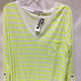 Primary Photo - BRAND: GAP STYLE: TOP LONG SLEEVE COLOR: NEON SIZE: L SKU: 155-155224-15773
