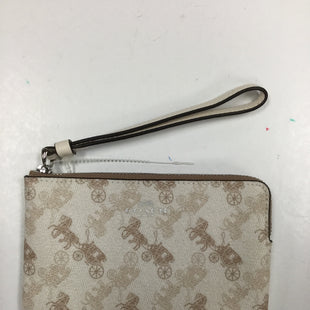 Primary Photo - BRAND: COACH STYLE: WRISTLET COLOR: CREAM SKU: 155-15599-234499