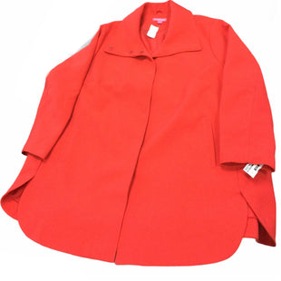 Primary Photo - BRAND: WOMAN WITHIN STYLE: COAT SHORT COLOR: RED SIZE: 4X SKU: 155-155187-25266