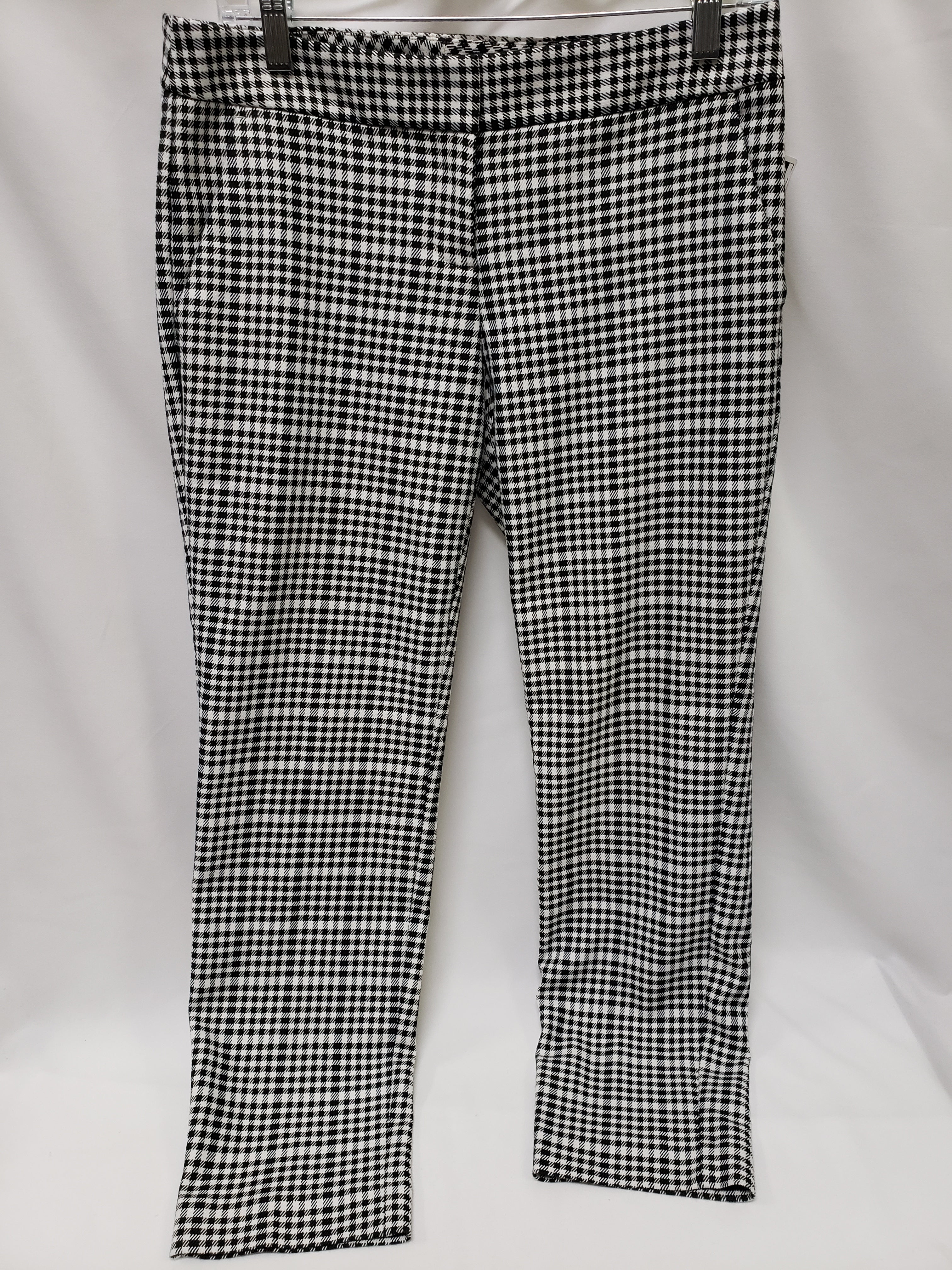 Primary Photo - BRAND: EXPRESS O <BR>STYLE: PANTS <BR>COLOR: BLACK WHITE <BR>SIZE: 4 <BR>SKU: 155-155178-9341
