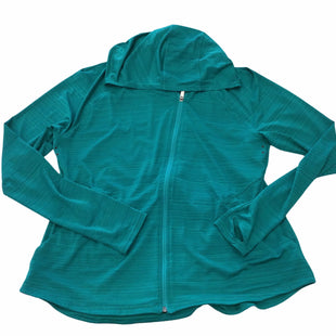 Primary Photo - BRAND: ATHLETA STYLE: ATHLETIC JACKET COLOR: TEAL SIZE: XL OTHER INFO: NOTED SKU: 155-155130-218722