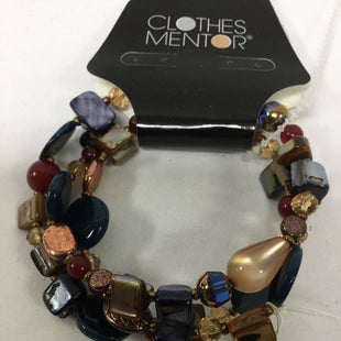 Primary Photo - BRAND:    CLOTHES MENTOR STYLE: BRACELET COLOR: BLUE RUST GOLD BRONZESKU: 155-15545-207382