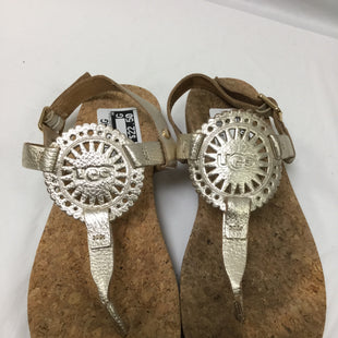 Primary Photo - BRAND: UGG STYLE: SANDALS FLAT COLOR: GOLD SIZE: 8 SKU: 155-155224-7592