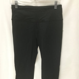 Primary Photo - BRAND: VICTORIAS SECRET STYLE: ATHLETIC CAPRIS COLOR: BLACK SIZE: S SKU: 155-155220-5700