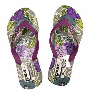 Primary Photo - BRAND: VERA BRADLEY STYLE: FLIP FLOPS COLOR: LAVENDER SIZE: 7.5 SKU: 155-155224-9113
