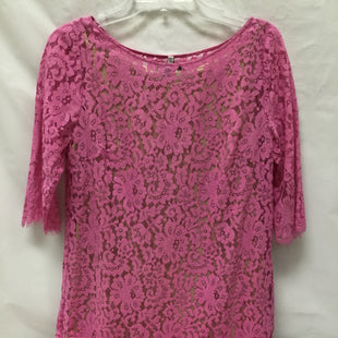 Primary Photo - BRAND: ROBERT RODRIGUEZ STYLE: DRESS SHORT SHORT SLEEVE COLOR: HOT PINK SIZE: S SKU: 155-155130-205676