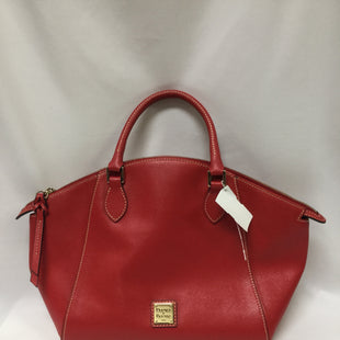 Primary Photo - BRAND: DOONEY AND BOURKE STYLE: HANDBAG DESIGNER COLOR: RED SIZE: LARGE SKU: 155-155130-211657