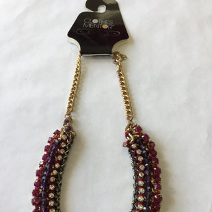 Primary Photo - BRAND: CHICOS STYLE: NECKLACE COLOR: PURPLESKU: 155-15599-2240598 INCHPURPLE, MAGENTA, GOLD