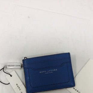 Primary Photo - BRAND: MARC JACOBS STYLE: COIN PURSE COLOR: BLUE SIZE: SMALL SKU: 155-15599-230455