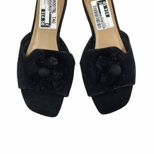 Primary Photo - BRAND: BANANA REPUBLIC STYLE: SANDALS FLAT COLOR: BLACK SIZE: 7 SKU: 155-155185-4428