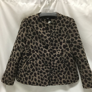 Primary Photo - BRAND: ANN TAYLOR STYLE: COAT SHORT COLOR: ANIMAL PRINT SIZE: M SKU: 155-15599-225028