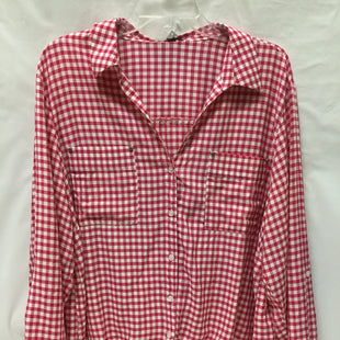 Primary Photo - BRAND: JONES NEW YORK STYLE: TOP LONG SLEEVE COLOR: CHECKED SIZE: 1X SKU: 155-155130-205158
