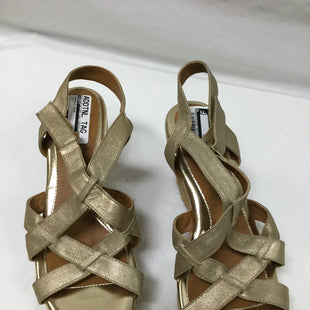 Primary Photo - BRAND: SOFFT STYLE: SANDALS HIGH COLOR: GOLD SIZE: 9.5 SKU: 155-155130-205112