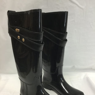 Primary Photo - BRAND: COACH STYLE: BOOTS RAIN COLOR: BLACK SIZE: 7 OTHER INFO: NOTED SKU: 155-15599-229641SOME SCRATCHES