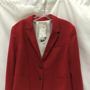 Primary Photo - BRAND: GAP STYLE: BLAZER JACKET COLOR: RED SIZE: 1X SKU: 155-15599-228309
