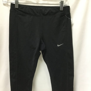 Primary Photo - BRAND: NIKE STYLE: ATHLETIC CAPRIS COLOR: BLACK SIZE: S SKU: 155-155227-1685