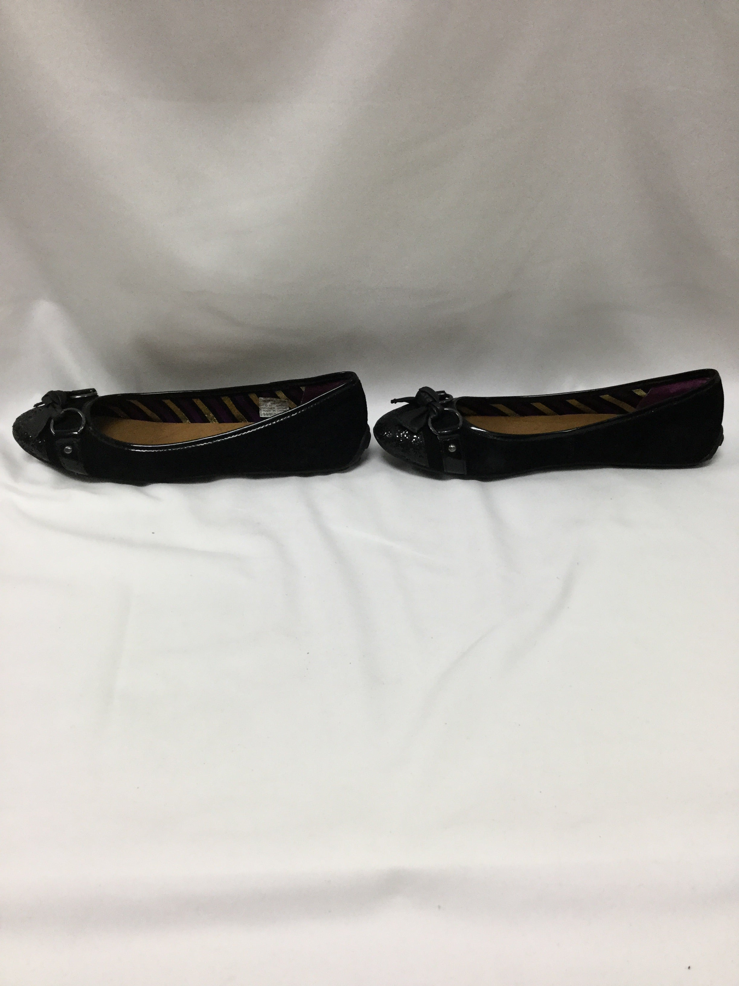 Photo #3 - BRAND: SPERRY <BR>STYLE: SHOES FLATS <BR>COLOR: BLACK <BR>SIZE: 11 <BR>SKU: 155-155215-3541