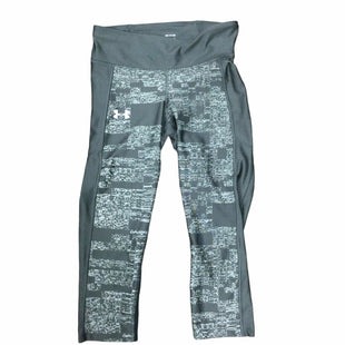 Primary Photo - BRAND: UNDER ARMOUR STYLE: ATHLETIC CAPRIS COLOR: GREY SIZE: S SKU: 155-155224-24281R