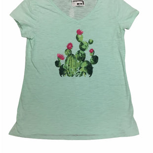 Primary Photo - BRAND: ST JOHNS BAY STYLE: TOP SHORT SLEEVE BASIC COLOR: MINT SIZE: M SKU: 155-15599-246340