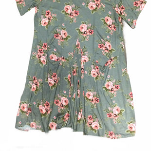 Primary Photo - BRAND:    CLOTHES MENTOR STYLE: DRESS SHORT SHORT SLEEVE COLOR: FLORAL SIZE: L OTHER INFO: FARMHOUSE FROCKS - SKU: 155-155226-2264
