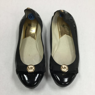 Primary Photo - BRAND: MICHAEL BY MICHAEL KORS STYLE: SHOES FLATS COLOR: BLACK SIZE: 6.5 SKU: 155-155220-5552