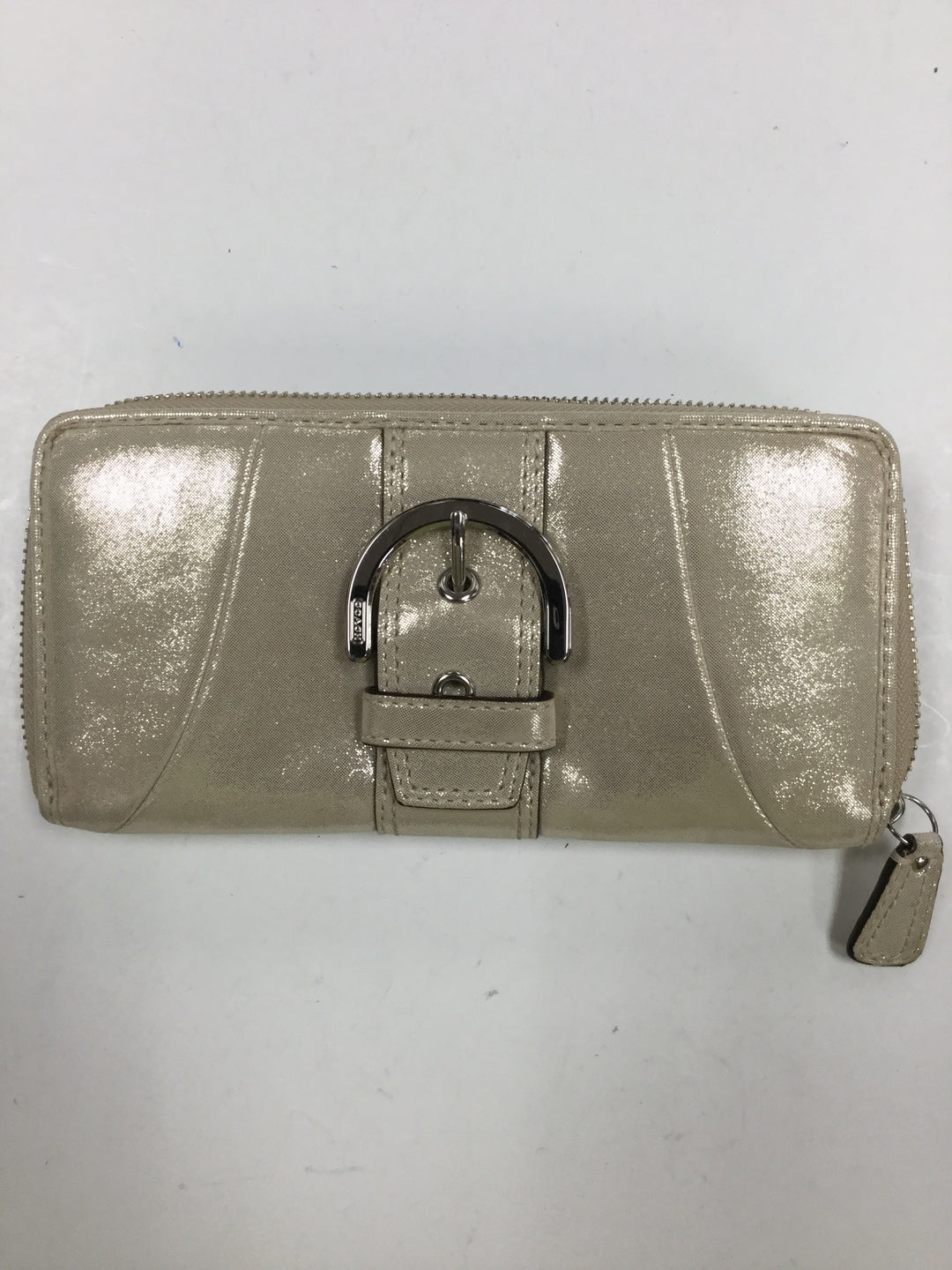 Primary Photo - BRAND: COACH <BR>STYLE: WALLET <BR>COLOR: GOLD <BR>SIZE: LARGE <BR>SKU: 155-155187-23736
