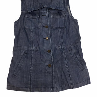 Primary Photo - BRAND: TALBOTS STYLE: TOP SHORT SLEEVE COLOR: DENIM SKU: 155-155220-11026