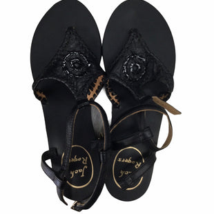 Primary Photo - BRAND: JACK ROGERS STYLE: SANDALS LOW COLOR: BLACK SIZE: 6 SKU: 155-15599-233099