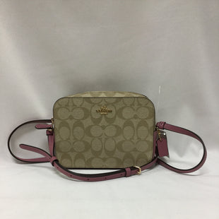 Primary Photo - BRAND: COACH STYLE: HANDBAG DESIGNER COLOR: TAN PINKSIZE: SMALL SKU: 155-155201-17511