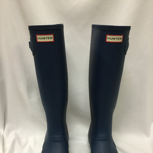 Primary Photo - BRAND: HUNTER STYLE: BOOTS RAIN COLOR: ROYAL BLUE SIZE: 10 SKU: 155-155224-19958