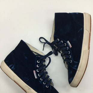 Primary Photo - BRAND: SUPERGA STYLE: SHOES ATHLETIC COLOR: BLUE SIZE: 10 SKU: 155-15599-231806