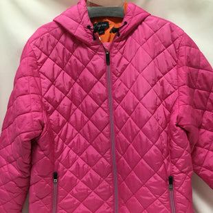 Primary Photo - BRAND: LANDS END STYLE: COAT SHORT COLOR: PINK SIZE: 1X OTHER INFO: NOTED SKU: 155-155178-10794